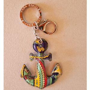 Vera Bradley Anchor Key Chain